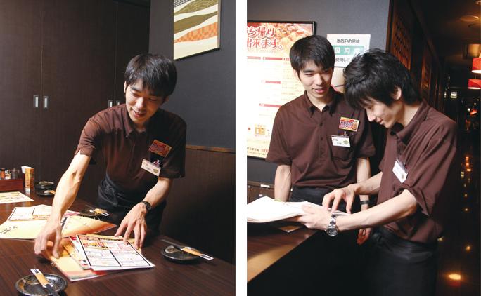 連絡ノートは店長の日記的な所感から、連絡事項、接客での気づき、スタッフの体調などまでが書かれ、出勤したスタッフは必ずそれを読むことが義務づけられている。