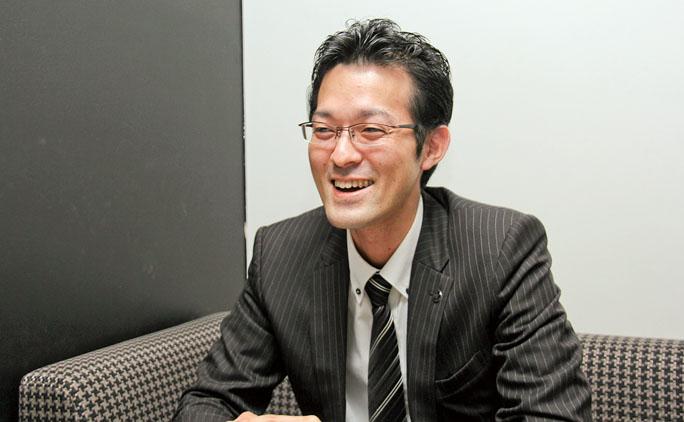 統括マネージャーの北島昌幸さん。入社6年目になる。