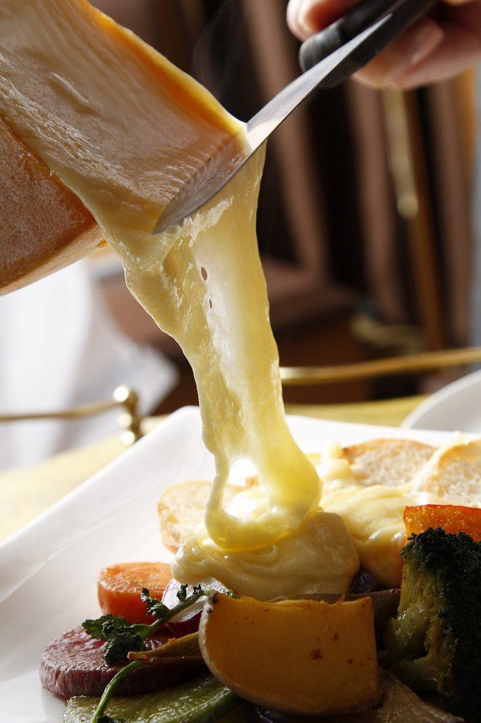 million sante(ミリオンサンテ)のラクレットチーズ。